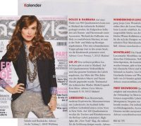 KITTY MONTGOMERY FEATURED IN THE INSTYLE MAGAZINE GERMANY