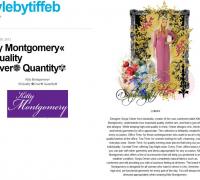 KITTY MONTGOMERY FEATURED ON STYLEBYTIFFEB BLOG USA