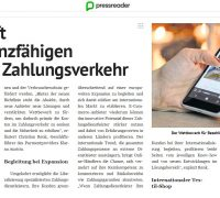 "Kitty Montgomery featured in the ""Die Presse"" newspaper!"