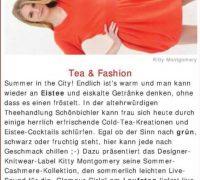 "Kitty Montgomery Fashion Show featured on ""stadtspionin"""