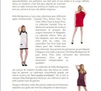 Kitty Montgomery Collection Presentation in Paris on July 3rd