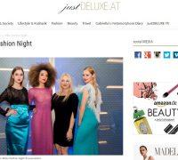Kitty Montgomery at Milan Fashion Night during Milan Fashion Week featured on JustDeluxe