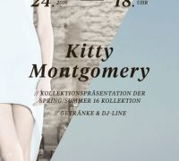 KITTY MONTGOMERY will present the new COTE D'AZUR COLLECTION