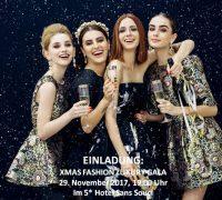 Kitty Montgomery Fashion Show @XMAS Fashion Luxury Gala at 5* Hotel Sans Souci Vienna