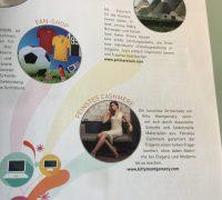 Kitty Montgomery featured in wirecard Magazine